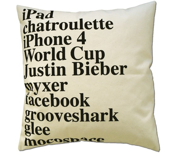 Google Pillow of 2010
