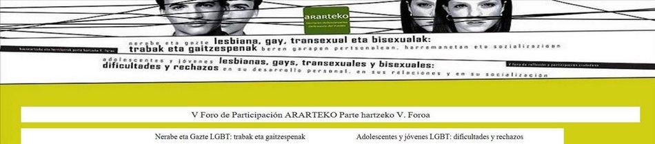Foro DE PARTICIPACIÓN  ARARTEKO V. PARTE HARTZEKO  Foroa