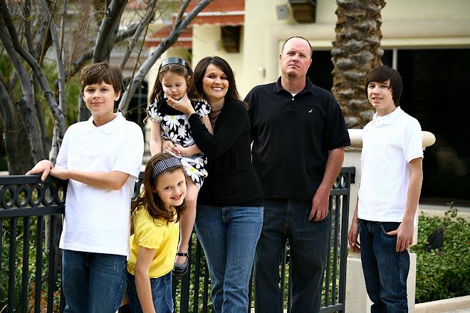 Jeff, Marian, Drazen, Braxton, Carlee and Katie