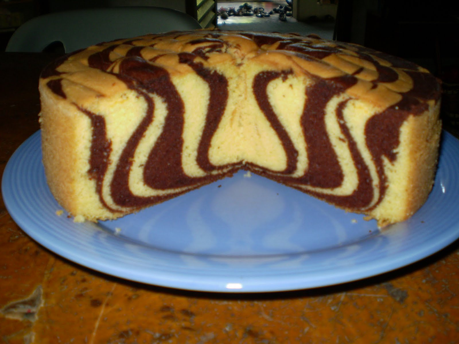 Rum Scented Marble Cake Ideas and Designs