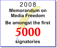 Be among the first of 5000 singatories