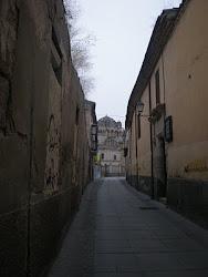 Rúa hacia la Catedral