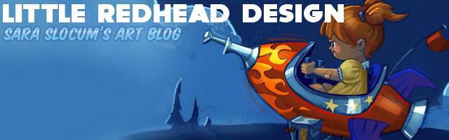 Little Red Head Design