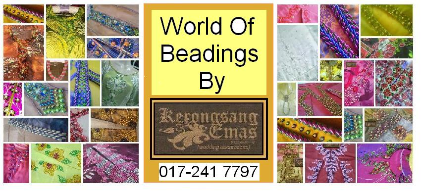 World Of Beadings By Kerongsang Emas