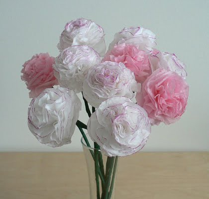 [Paper+carnations]