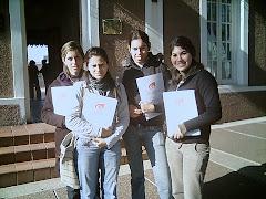Jóvenes participantes curso RrHh