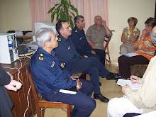 Dialogamos sobre preocupante tema de Seguridad