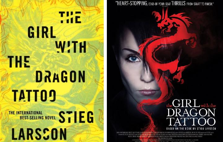 The flick chick book vs film the girl with the dragon for The girl with the dragon tattoo story