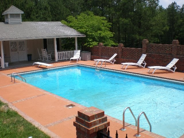 Armuchee home for sale in ground pool and accompanying Underground swimming pools for sale