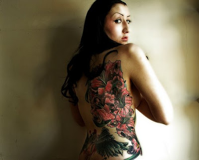 Wicked Tattoo of Lilies