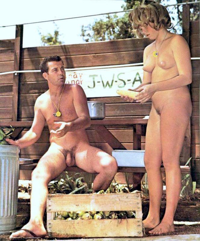 Junior nudist Retro