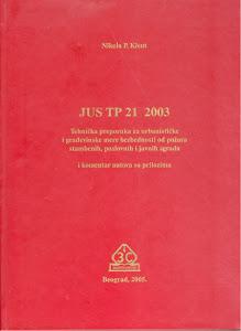 Tehnička preporuka JUS TP 21 sa komentarom