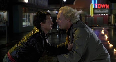 Back to the Future Part III, I'm Back from the Future! Michael J. Fox, Christopher Lloyd