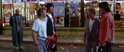 George Carlin, Keanu Reeves, Alex Winter, Bill & Ted's Excellent Adventure