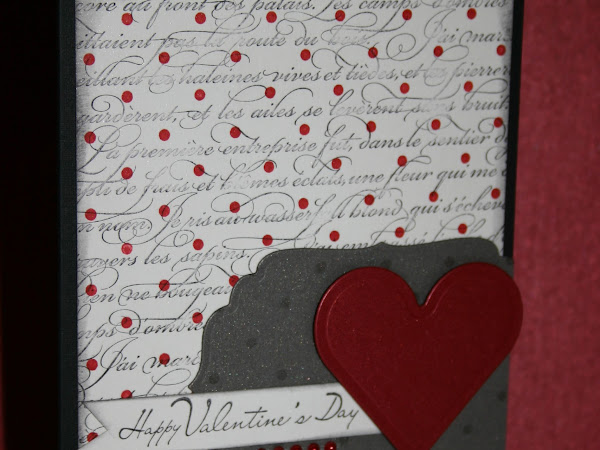 Gift Certificate WINNERS & Happy Valentine's Day Card!