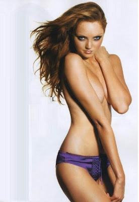 British Model Lily Cole