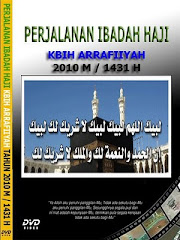 CD PERJALANAN IBADAH HAJI KBIH ARRAFIIYAH TAHUN 1431 H / 2010 M