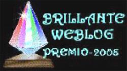 Este blog tiene el premio Brillante