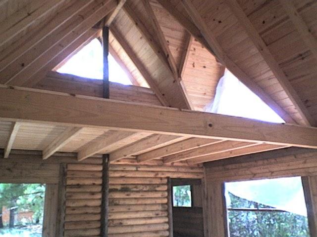 Construccion de caba as en la costa atlantica - Construccion de pergolas de madera ...