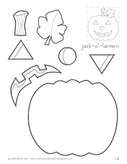 Enterprising image for printable holloween crafts