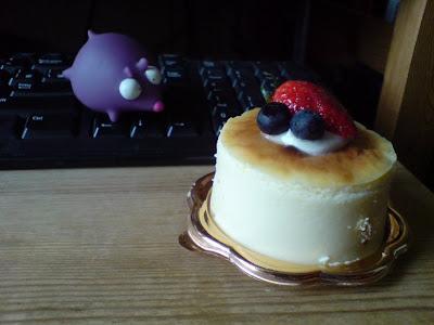 隻老鼠打DeepC的cheese cake主意!!!!!