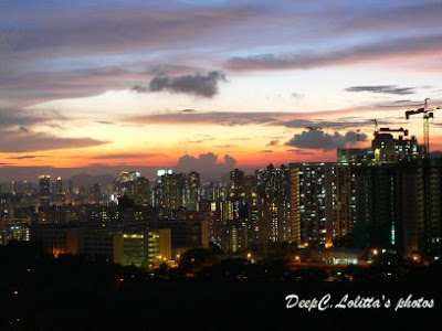 2007年8月29秋, 日落