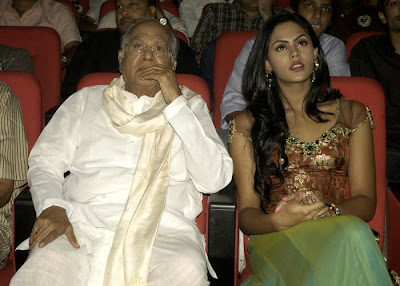 Karthika with Nageshwar Rao in Josh
