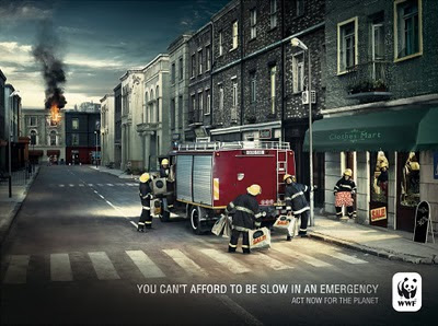Социальная реклама WWF