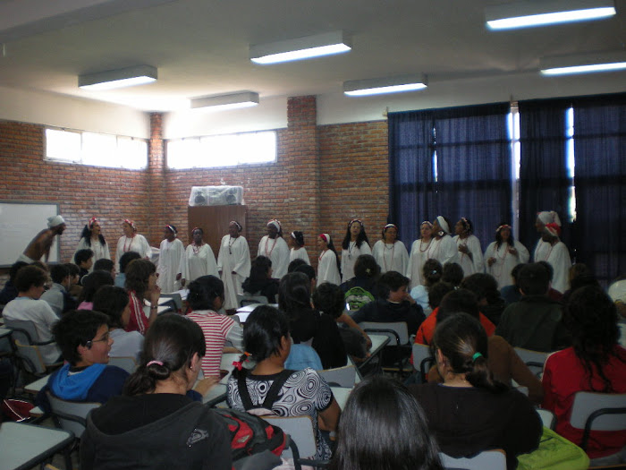En 2008,  Liceo Shangrilá, por los Derechos Humanos