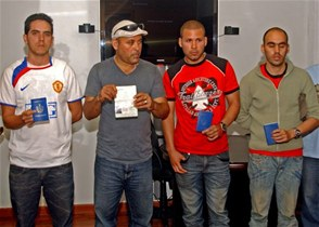 Cubanos apresados en Santo Domingo