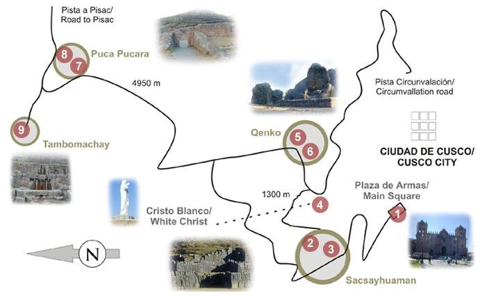 circuito sacsayhuaman - cuzco