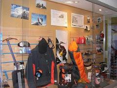 exibiciones de equipos para montaña y alta montaña
