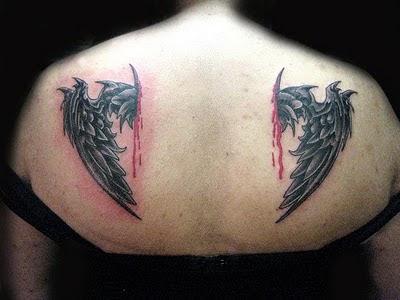 tatuaje en los nudillos. Tatuajes de Alas