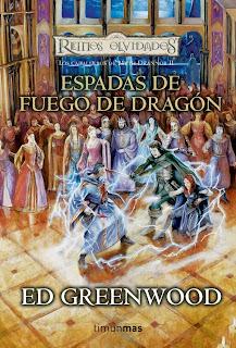 reinos olvidados espadas fuego dragon