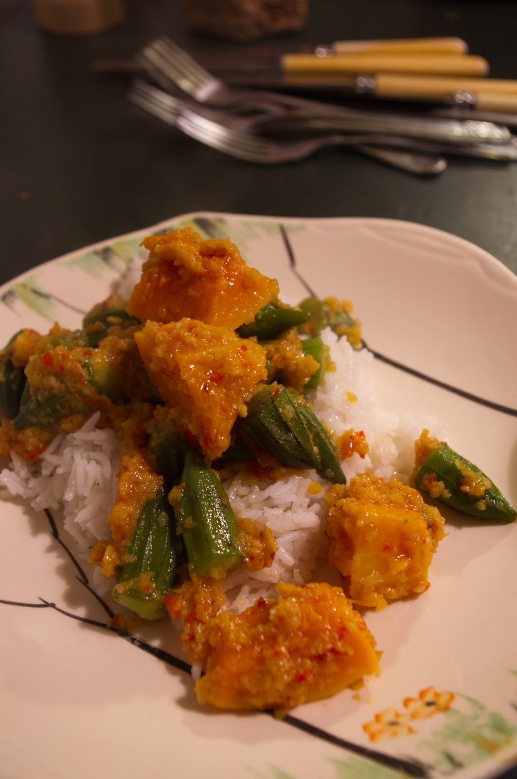 how to put up okra