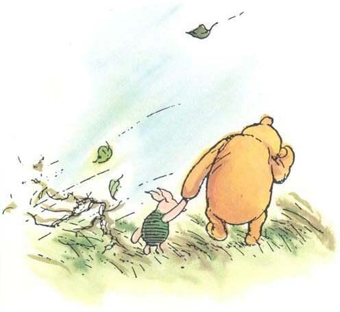 wallpaper cartoon pooh. Gambar Winnie The Pooh