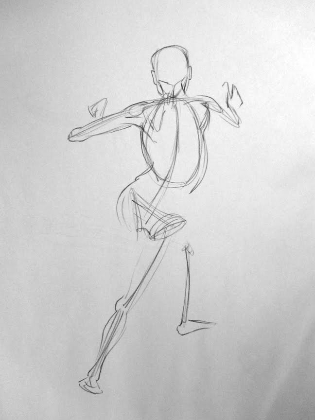 Sketchy Flavors: Thomas Hendry\'s Figure Drawing Anatomy course