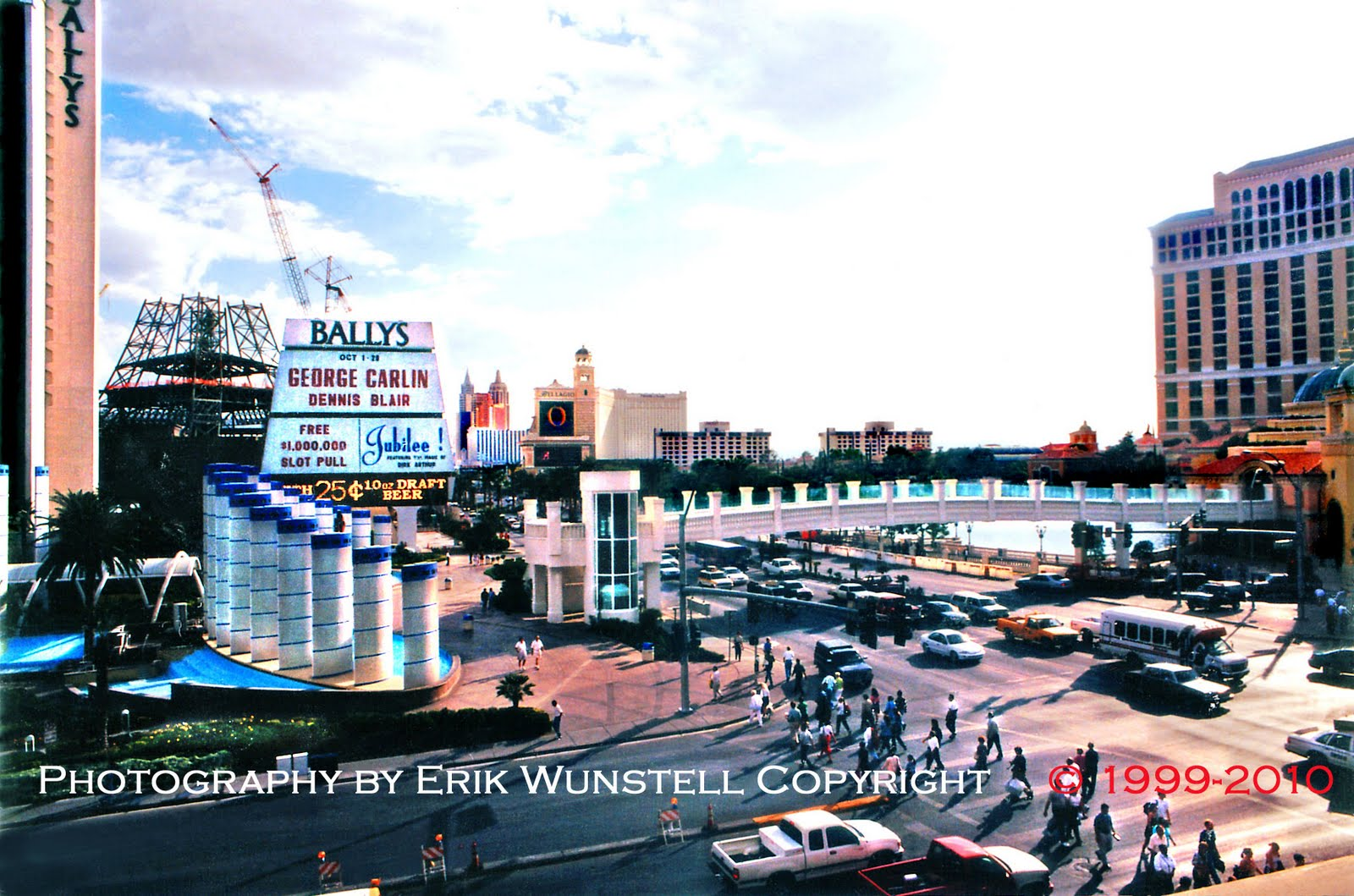 With you Current las vegas strip construction theme, will