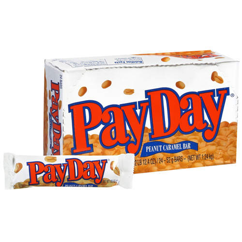 Adirondack Baker: MAKE YOUR OWN PAY DAY CANDY BAR