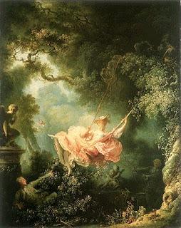 Fragonard  The+Swing The Romantic Ideal