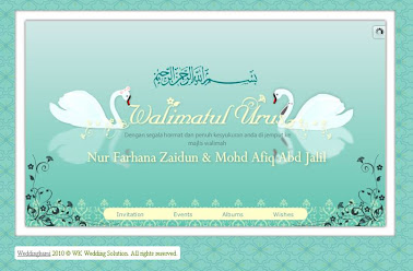 Our E-Invite by WeddingKami