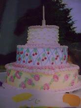 A cute birthday cake!