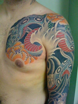 Tattoos, Shoulder Tattoos, Sleeve Tattoos, Japanese Tattoos, Abstract