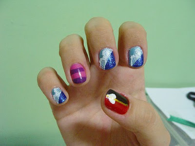 urban nails, nail art. Posted by tattoo-inc at 7:12 PM