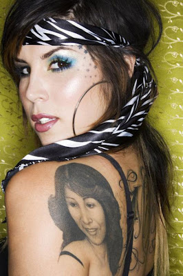 kat von D tattoo,  girl tattoo