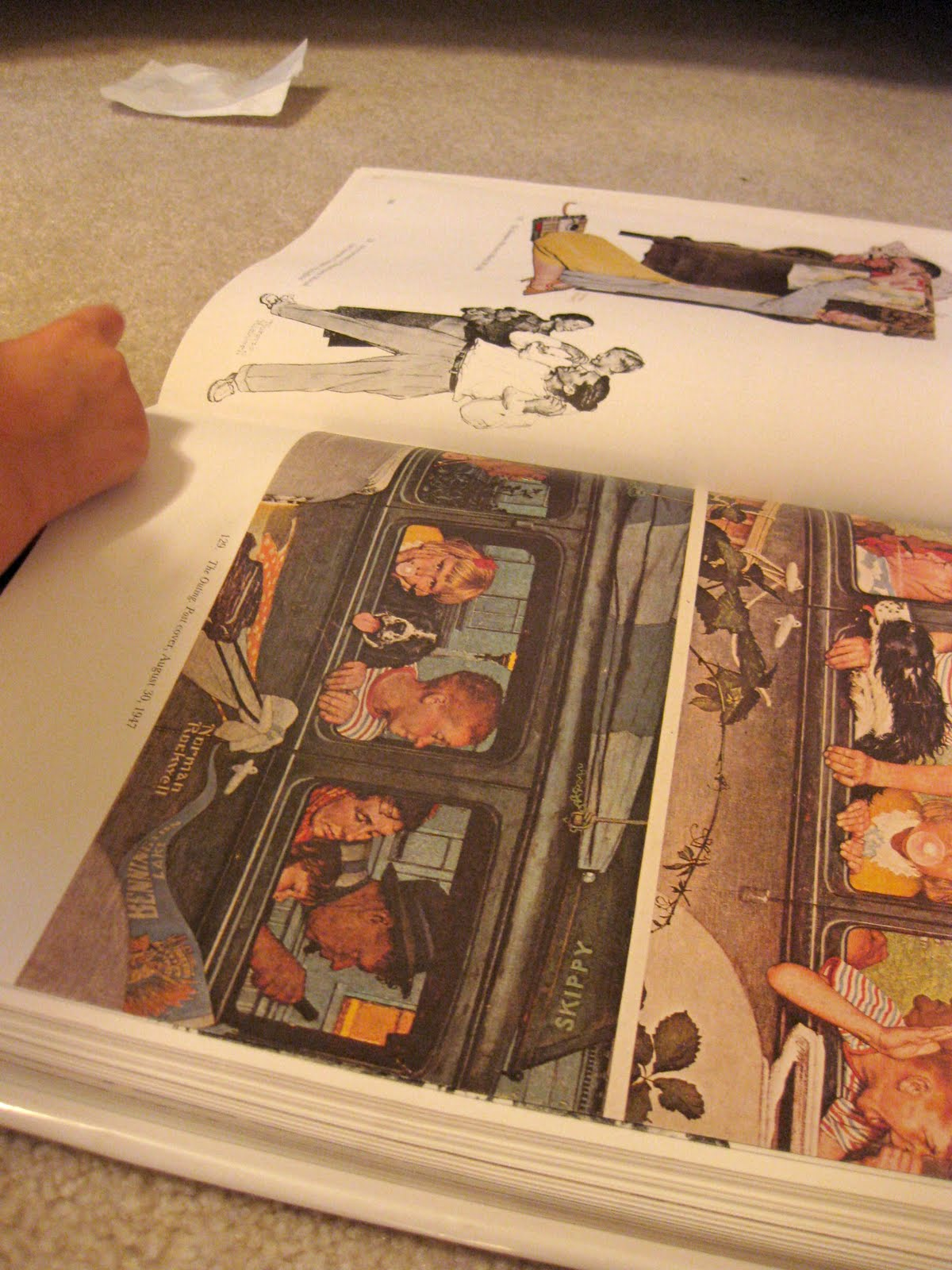 telling stories with norman rockwell paintings teach mama