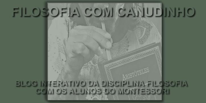 FILOSOFIA COM CANUDINHO