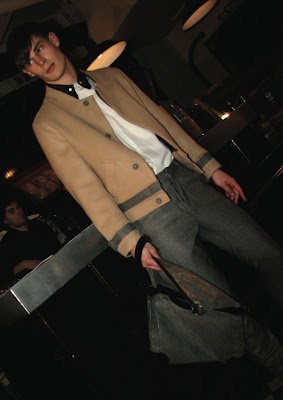 Menswear- Omar Kashoura from London Fashion Week AW10/11