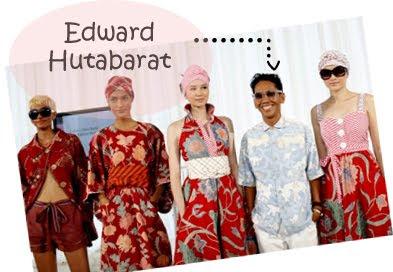 Edward Hutabarat dan Batik