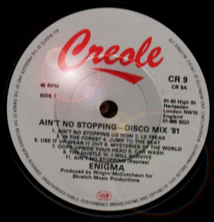 ENIGMA - Ain't No Stopping - Disco Mix '81 (12